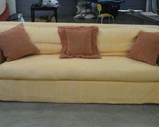 Lg. Yellow Sofa