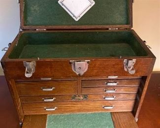 001 Union Chest Vintage Machinist Tool Box