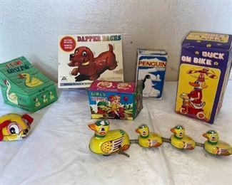Mechanical Tin Toys