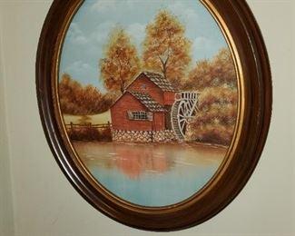 Water mill picture