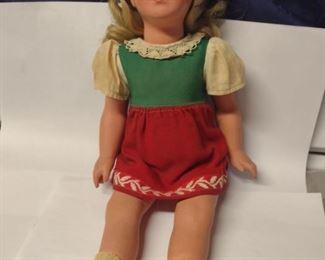 1961 Vintage Modell Kathe Kruse Doll