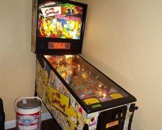 Simpson's pinball machine. Fully functioning!