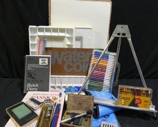 Art Supplies - Watercolor Paper, Acrylic Paint ++