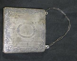 Antique Sterling Watrous Mfg Purse / Bag