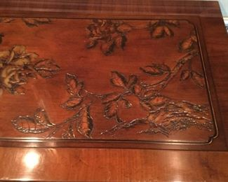 CONSOLE CARVING ON EDGES