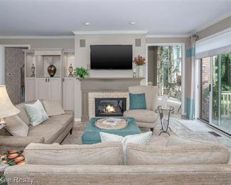 """(2) AVAILABLE  68""""L X 34""""D  CUSTOM UPHOLSTERED TWO CUSHION COUCHES FROM ESSENTIALS BY CENTURY FURNITURE."""