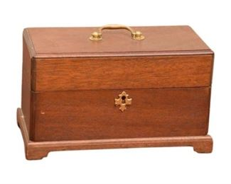 10. The Bartley Collection Ltd. Wooden Box