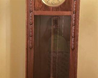 Grandfather clock vintage