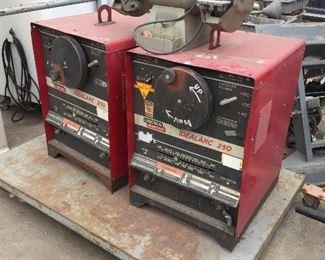 Lincoln & Miller welding machines