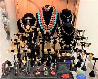 Gold, diamonds, sapphires, emeralds, rubies, coral, lapis…everything a girl needs!