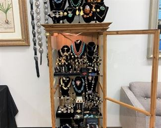 The jewelry is amazing!  All real and ready to wear out of the sale.  Happy Holidays!