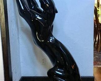 Tall, vintage black panther.