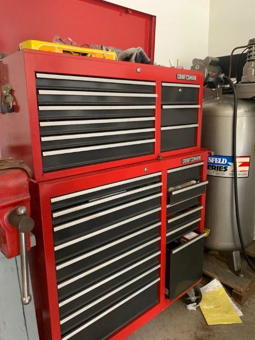 Large Craftsman Mechanic Tool Chest