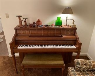 Kimball upright,  nice well cared for Piano. Available for presale, priced @ $395 - have a professional mover that can deliver within 25mi at $500