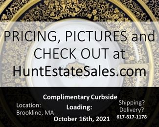 Shop NOW at HuntEstateSales.com!