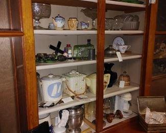 Knicknacks, mementos, antiques, unique items galore!