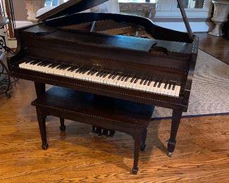 Brambach 1927 - Honduran Wood Piano