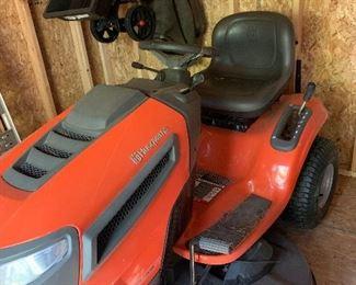 "Husqvarna 22hp  46"" riding lawn mower"