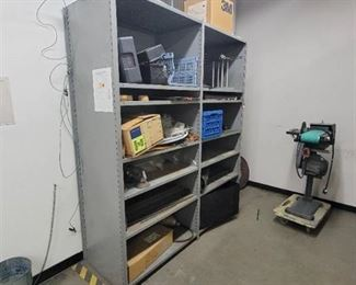 Metal Shelf With Adjustable Shelves