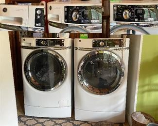 GE Energy Star Washer and Dryer