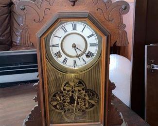 Antique Kitchen mantle clock