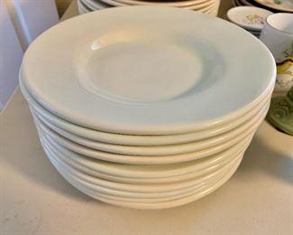 "$90 - 10 Sausalito shallow bowls for pasta or salad.  Each 9.75"" diam."