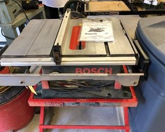 Bosch TS1000 with stand