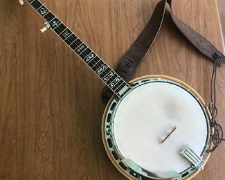 Ibanez Banjo and case