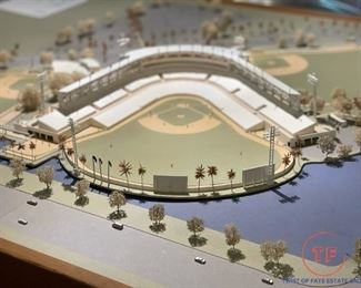 Original ONE OF A KIND Architectural Model of YANKEES LEGENDS FIELD (Steinbrenner Field) Designed and Built by The Lead Architect