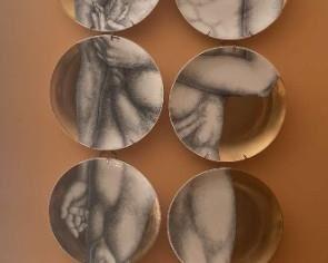 001 Adam by FornasettiMilano Plates