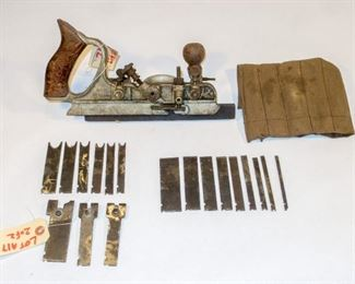 Craftsman (Sargent) Combination plane with 18 cutters