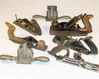 Mixed lot Stanley planes