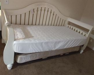 Solid wood ,mattresses are included like new