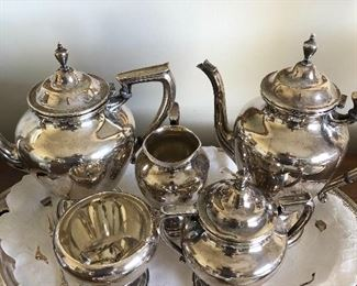 Sterling Wallace tea set