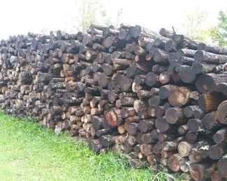 20 Full Cords Aged Oak