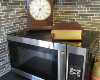 Small Kitchen Microwave