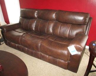 Broyhill Leather Sofa