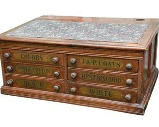 4. Antique Storage Chest Desk