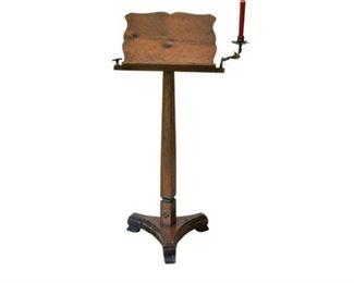 8. Antique Podium Or Music Stand
