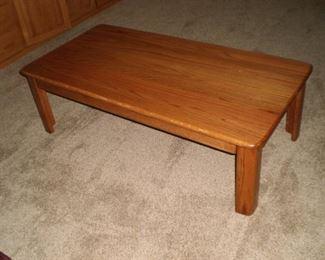 Coffee table--oak