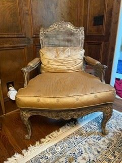 Large Cane back chair