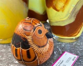 Decorative wood Owl