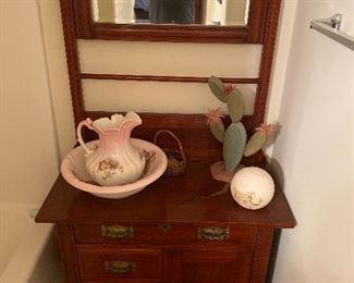Antique wash stand