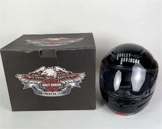 Lot #51: Harley Davidson Full Face Helmet XS Size