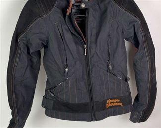 Lot #53: Harley Davidson Small Padded Motorcycle Jacket