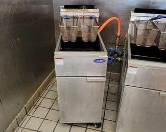 Cook Rite Natural Gas Vertical Deep Fryer (#ATFS-50)