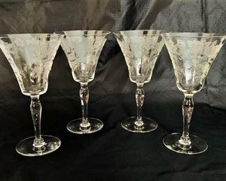 Vintage Fostoria Crystal