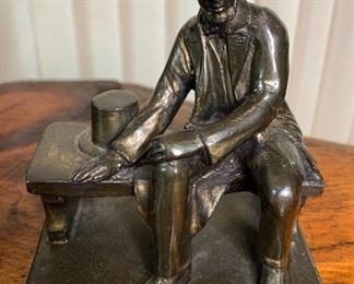Small Bronze Figurine