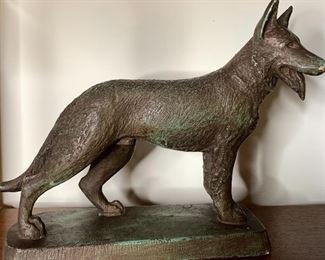 Small Bronze Statue