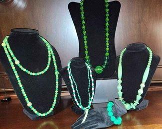 004 5 Necklaces  4 Bracelets